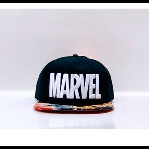 Marvel logo avengers SnapBack hat